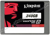 Накопитель Kingston 240GB SSDNow V300, LSI SandForce, SATA3 2.5